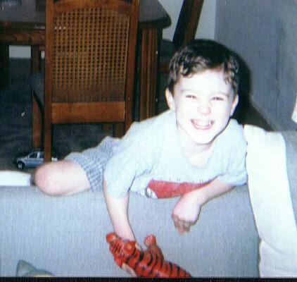 Ricky in April of 2000