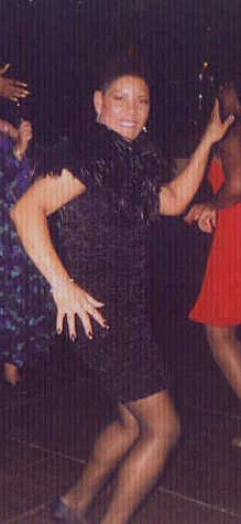 Valarie Dancing at a X-Mas Party in 1997